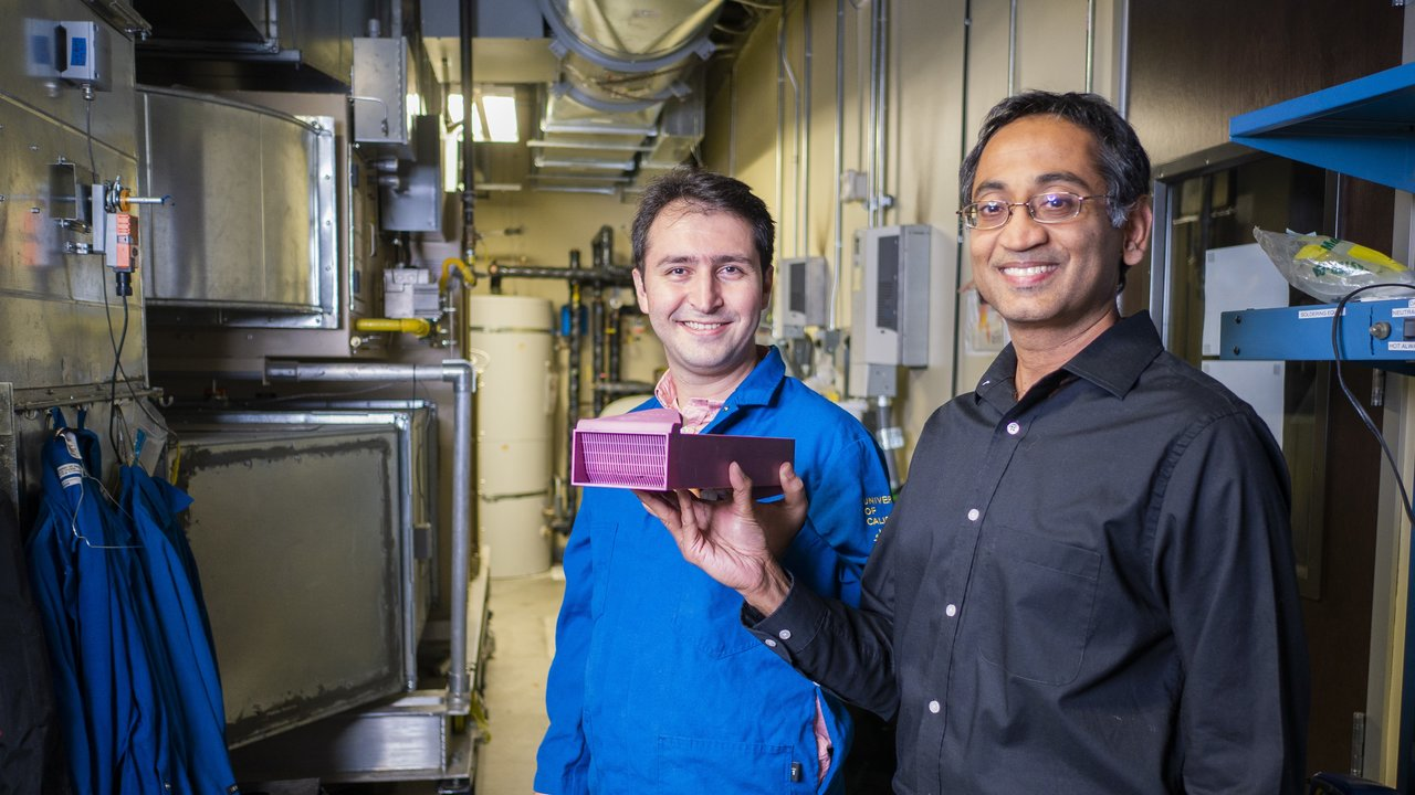 uc davis mechanical aerospace engineering vinod narayanan heat exchanger arpa e