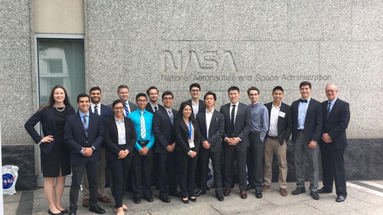 uc davis aerospace engineering nasa design competition winners 2018